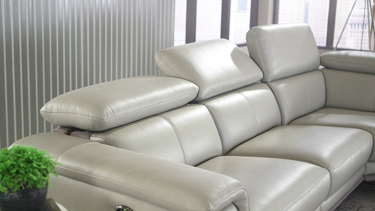 Embry 2-piece Leather Power-Reclining Sectional & Embry 2-piece Leather Power-Reclining Sectional - YouTube islam-shia.org
