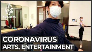 Coronavirus outbreak hits arts and entertainment industries