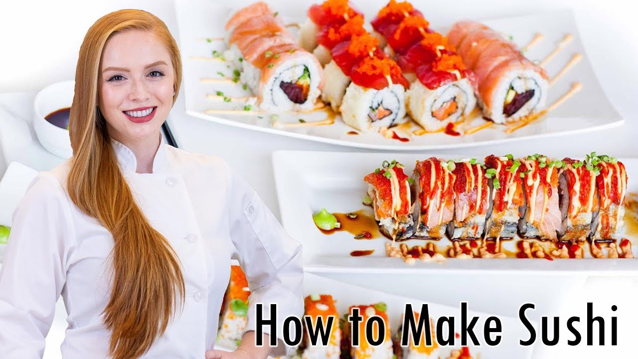 How To Make Sushi Easy Step By Instructions