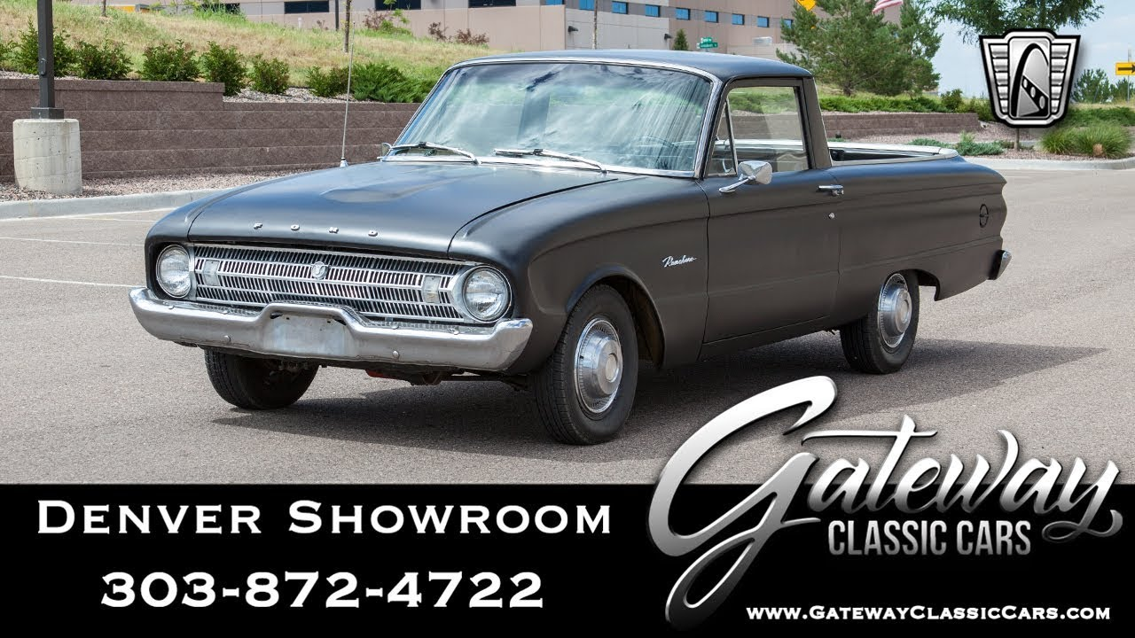 1963 Ford Ranchero - Denver Showroom #613 Gateway Classic Cars