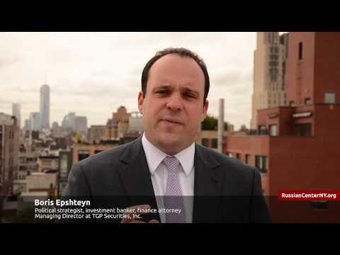Boris Epshteyn on Russia Forum New York