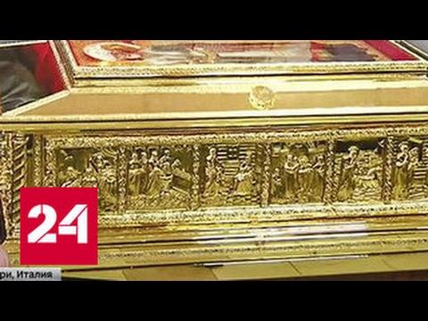 Мощи Святителя Николая поместят в серебряный ковчег