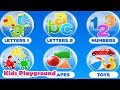 Shapes & colors bubble games for toddler kids Free - 22learn, LLC