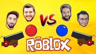Youtuber vs Youtuber 💪🏼 | Roblox Ball Blast