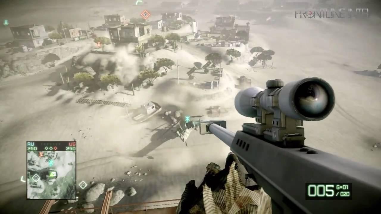 Smoke Stack Sniper Atacama Desert Battlefield Bad