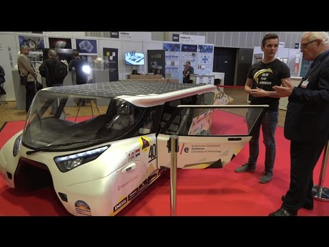 Solar-powered car (4-seater) by Solar Team Eindhoven