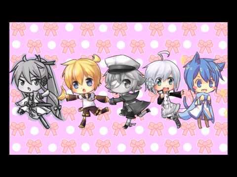 ~Tsukema Tsukeru~ 5 Vocaloid Chorus (KAITO, Kagamine Len, Oliver, Utatane Piko, Kamui Gakupo)