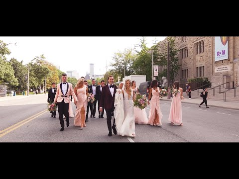 Toronto Wedding Videographers at Royal Ontario Museum (ROM)