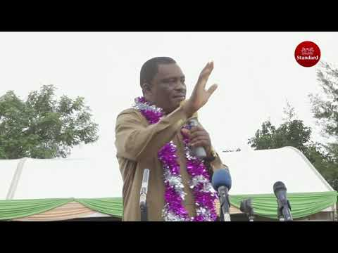 Speaker Justin Muturi tours the Nyanza region to drum support for his 2022 presidency