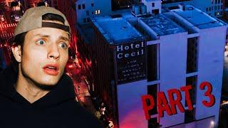 OVERNIGHT in HAUNTED CECIL HOTEL: Demon of Richard Ramirez (Part 3)