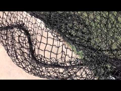 Net savers round rubber disk to keep the net in place batting cage netting with anchors