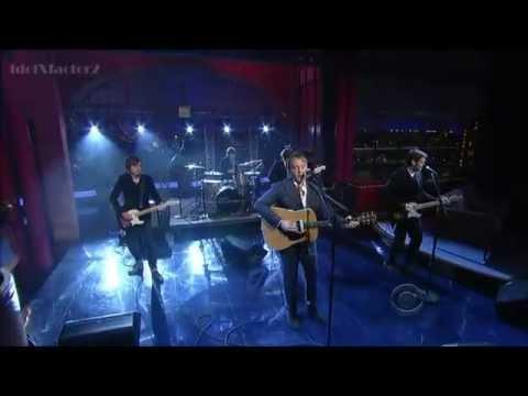 "James McCartney Performs ""ANGEL"" On David Letterman"