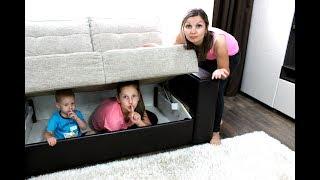 Игра в Прятки в нашем доме или Hide and seek spot at our home