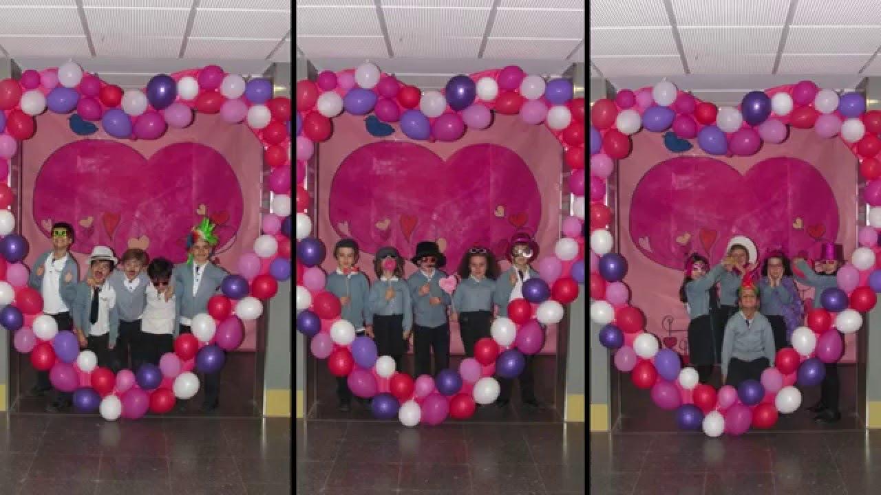 San Valentin Decoration Colegio Legamar San Valent N 2016 Youtube