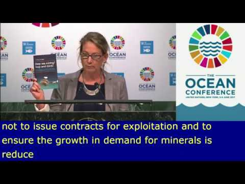 Deep sea mining: Seas At Risk's statement at the UN Ocean Conference