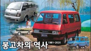 기아자동차 봉고차의 역사