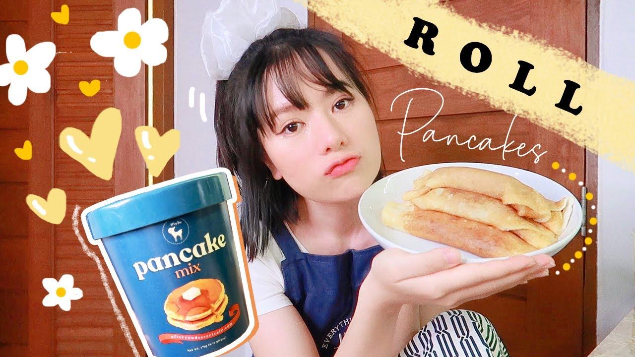 เมนูกักตัวกับครัวมิดไนท์ 🌙 ทำขนมโตเกียว จากแป้งแพนเค้ก Afteryou จ้า