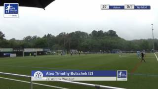 B-Junioren - VfR Aalen vs. FC Astoria Walldorf 0:1 - Alex Butschek