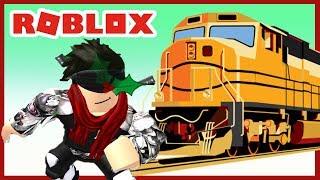 ROBLOX INDONESiA | Ride the TRAIN... TUT 😍