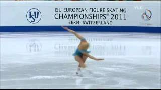 Alicia Keys - Girl on fire ( Kiira Korpi ) (ice skating) + lyrics