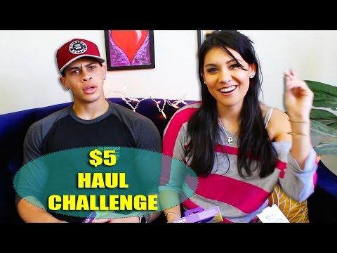 5 DOLLAR HAUL CHALLENGE! - ft. TravieBASED