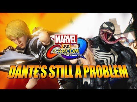 DANTES STILL A PROBLEM: Venom  Marvel Vs Capcom Infinite Online Ranked