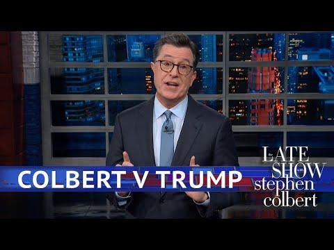 Donald Trump Stole Stephen's Bit