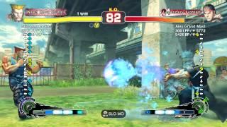 SSF4 Guile (oOo mmatt oOo) Vs Ryu (Alex Grand Mast)
