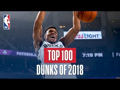 NBA's Top 100 Dunks of 2018 Mp3