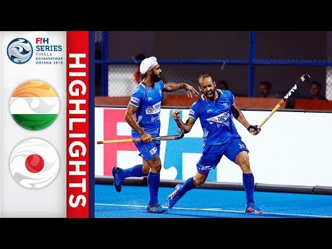 India V Japan | Men's FIH Series Finals | Match 18 Highlights