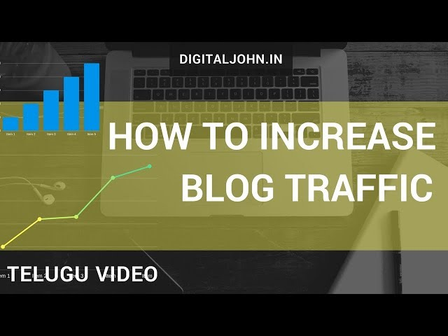Tips to Increase Your Blog Traffic in Telugu | Digital Badi|