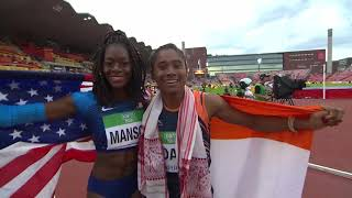 India's Rising athletics star- Hima Das 2 gold medal wins