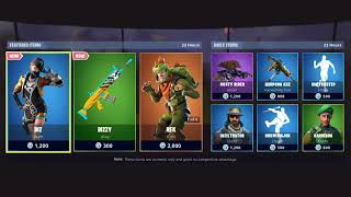 NEW *BIZ* SKIN IN SHOP!! | Fortnite Item Shop for June 23, 2019