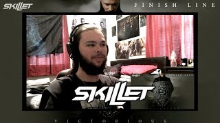 """METAL BASSIST REACTS TO """"FINISH LINE"""" BY SKILLET NEW 2019"""