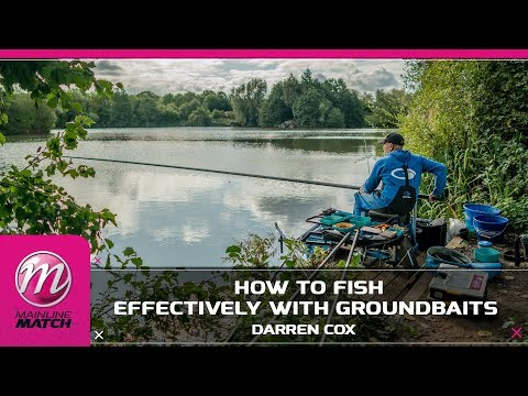 Mainline Match Fishing TV - How To Fish Effectively With Groundbaits!