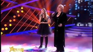 "Serena Rigacci feat. Monica Anghel - Celine Dion si Barbra Streisand - ""Tell Him"""