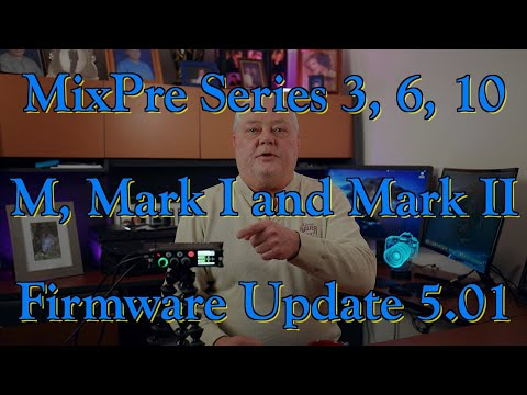 MixPre Series 5.00/5.01 Firmware Update 👍