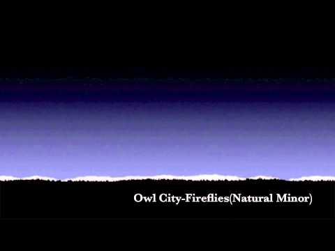 Owl City-Fireflies(Natural Minor)