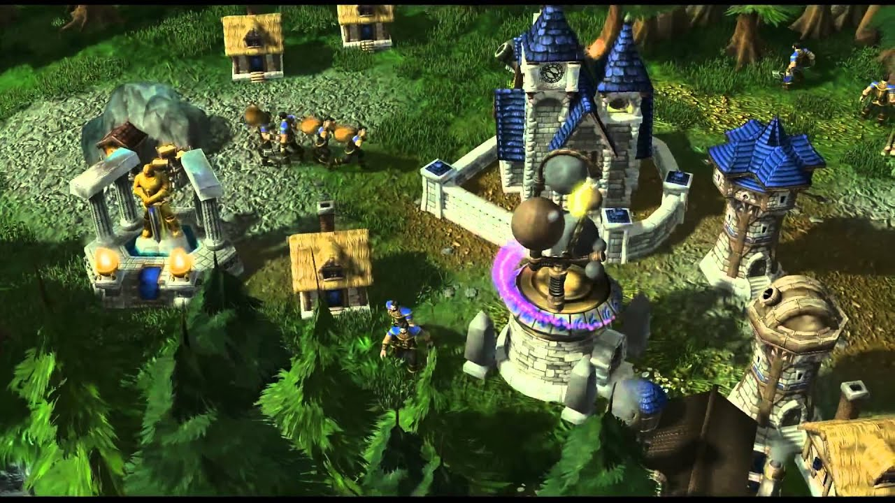 WarCraft III Reborn - Armies Of Azeroth (StarCraft II engine) [1080p]