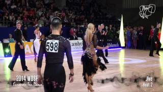2014 Euro Ten Dance | Semi-Final, Jive, 2 Heats | DanceSport Total