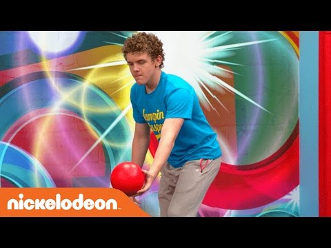 Slow-Mo Trampoline w/ Jace Norman & the Cast & Crew of Henry Danger | Nick