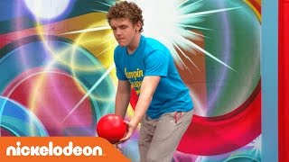 slow mo trampoline w jace norman the cast crew of henry danger   nick