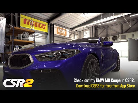 【CSR2】M8 Coupe, Shift & Tune For 8.079