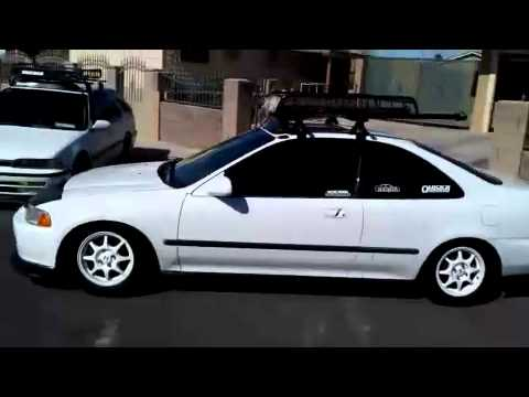 cb7 wagon & eg coupe with roof racks cargo b - YouTube
