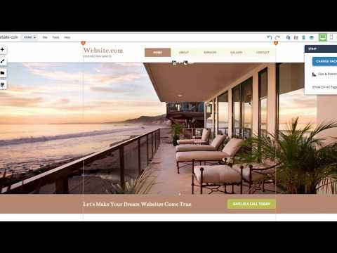 how to make an online business website for free