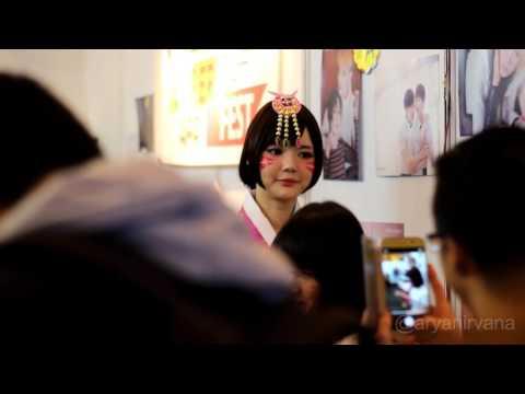 Ying Tze at Creators Super Fest 2017 Jakarta