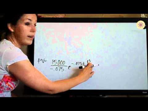 Present and Future Value Example 5 (KristaKingMath)