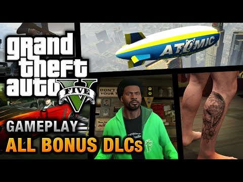 GTA 5 - All Bonus DLCs