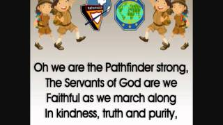 Pathfinder Song Instrumental Lyrics Screen