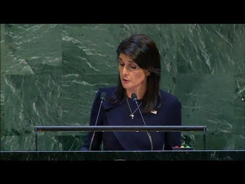 United Nations condemns U.S. economic embargo on Cuba